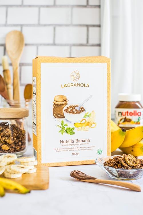 lagranola nutella banana