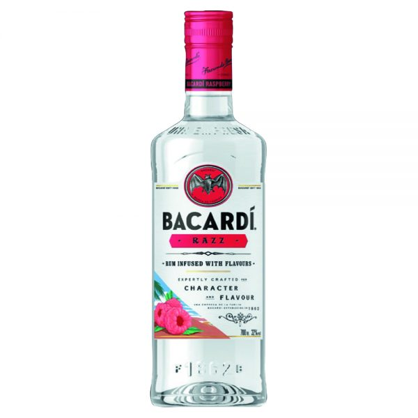 bacardi razz 700 ml