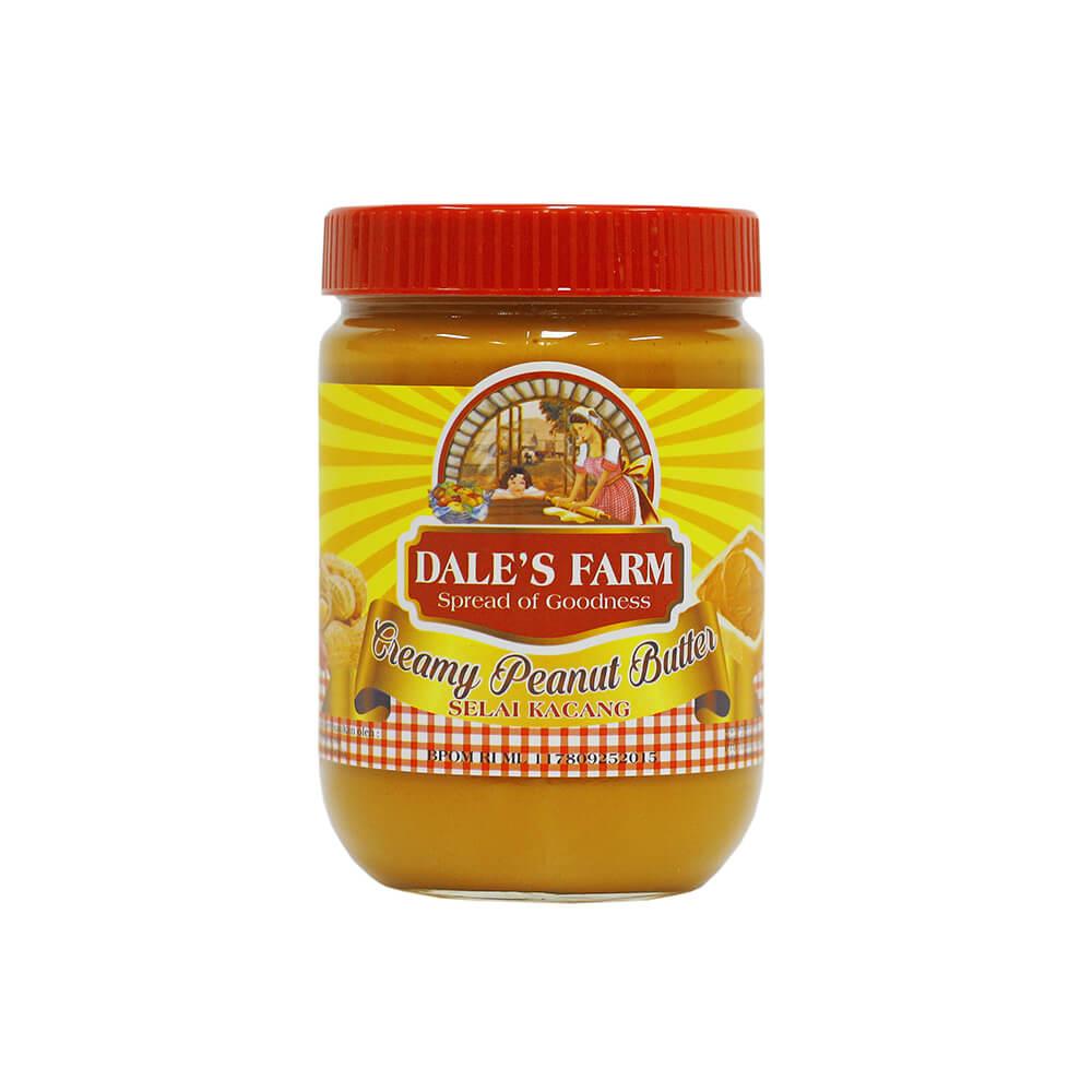 Dale S Farm Creamy Peanut Butter 500 Gr Selai Kacang