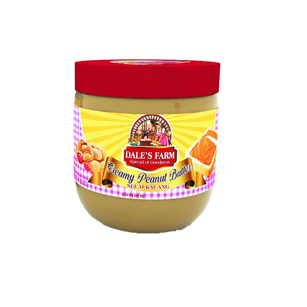 Dale S Farm Creamy Peanut Butter 250 Gr Selai Kacang