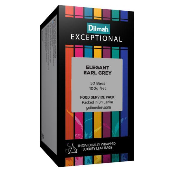 dilmah exceptional elegant earl grey 50 sachet