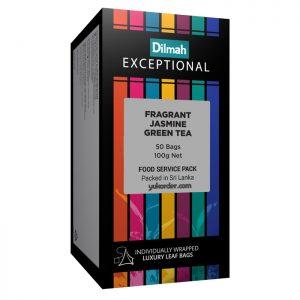 dilmah exceptional jasmine green tea 50 sachet