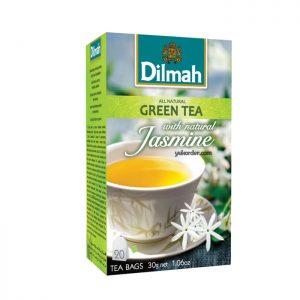 dilmah tag tea bag jasmine
