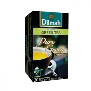 Dilmah Foil Envelope Pure Green Tea