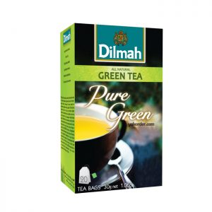dilmah pure green tea 20s