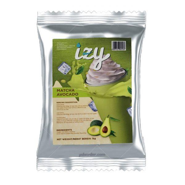 izy matcha avocado