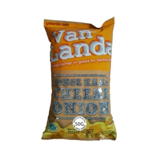 van landa cheese onion 50 gram