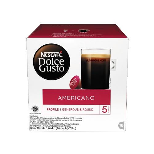 nescafe dolce gusto americano