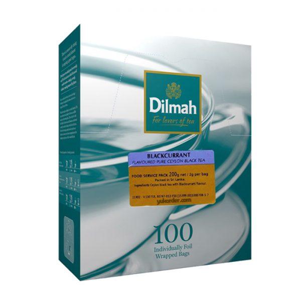 dilmah blackcurrant 100 sachet