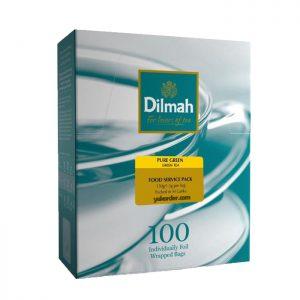 Dilmah pure green tea 100 sachet