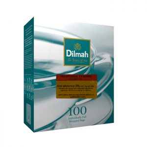 dilmah traditional oolong isi 100 sachet