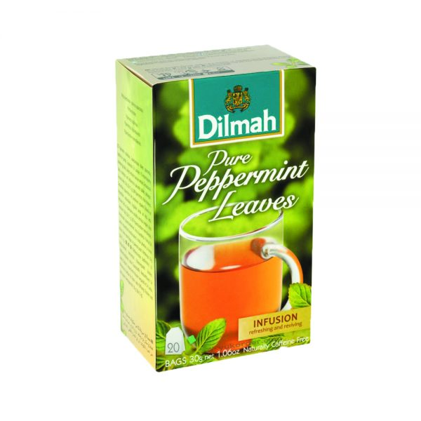 Teh Dilmah peppermint isi 20 sachet