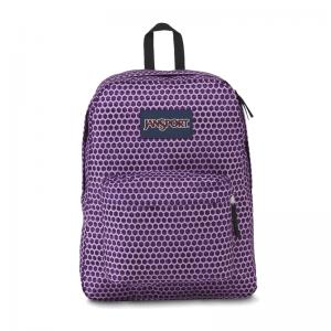 JanSport Superbreak Urban Optical Purple