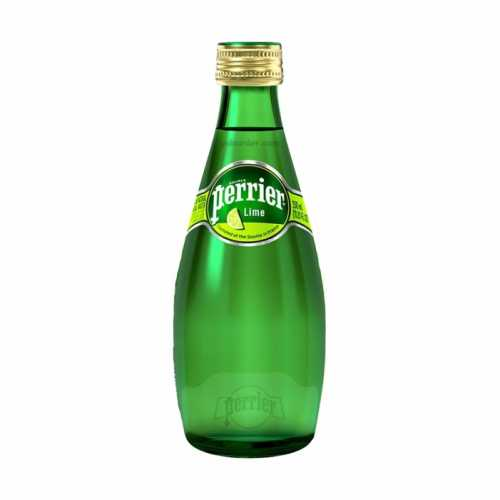 Perrier Sparkling Water Lime 330ml