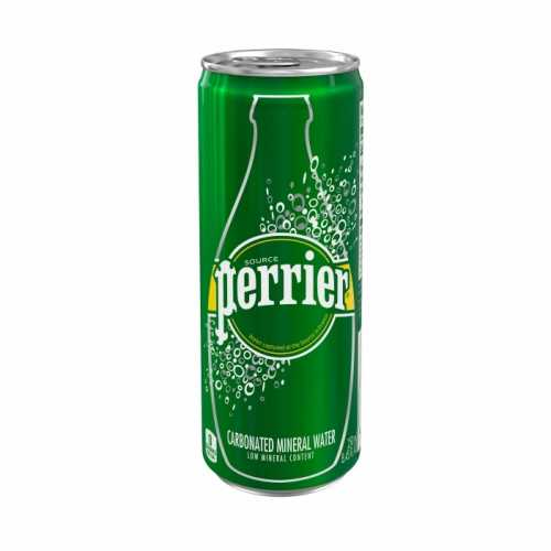 Perrier Sparkling Natural Water Can 250ml