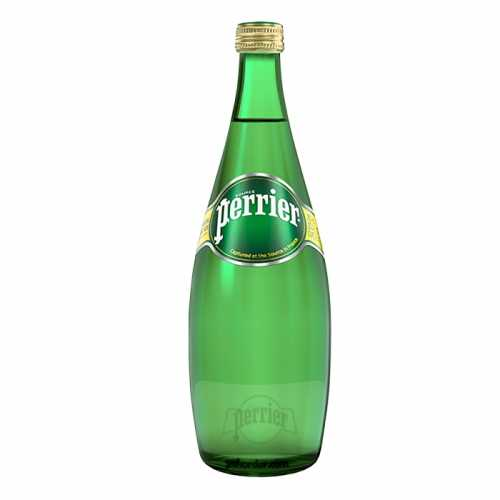Perrier Sparkling Natural Mineral Water 750 ml